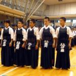 平成26年度若鯱錬成会 準優勝:千代が丘剣道教室