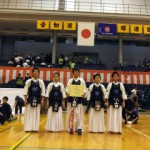 中学生の部 準優勝 京都太秦少年剣道部