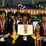 中学生女子の部 第三位 南区少年剣和会