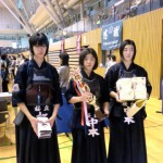 中学生女子の部 第三位 桜丘スポーツ少年団剣道部