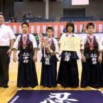小学生の部 第三位 斉年寺道場剣志会