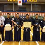 中学生の部 第三位 京都太秦少年剣道部
