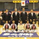 低学年の部 第三位 武徳館剣道教室A