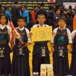 低学年の部 第三位 京都太秦少年剣道部