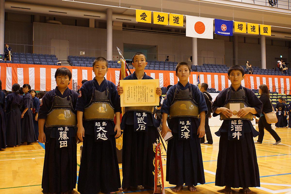 平成27年度愛知県剣道道場連盟「近藤杯」争奪少年剣道錬成大会