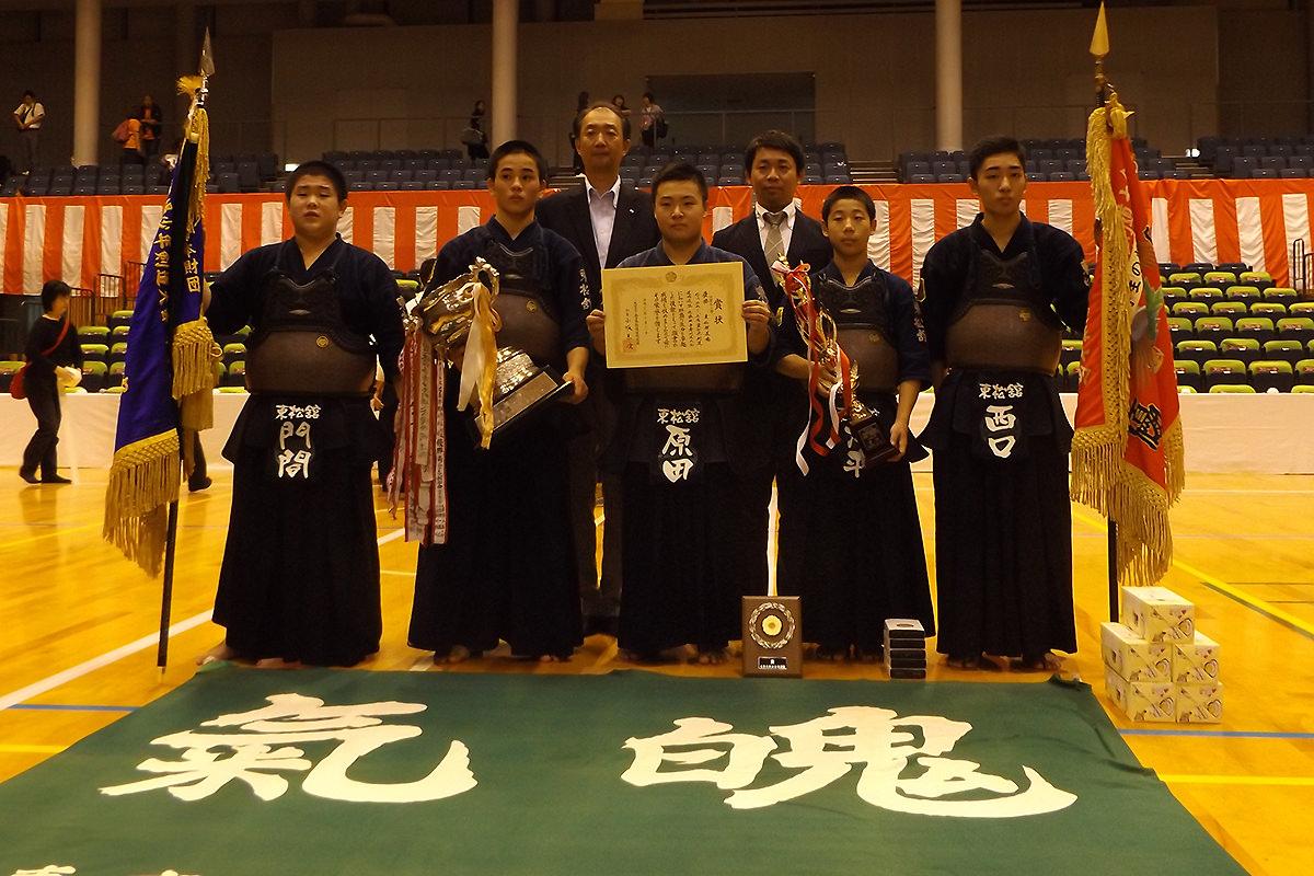 平成28年度「近藤杯」争奪剣道大会 中学年の部