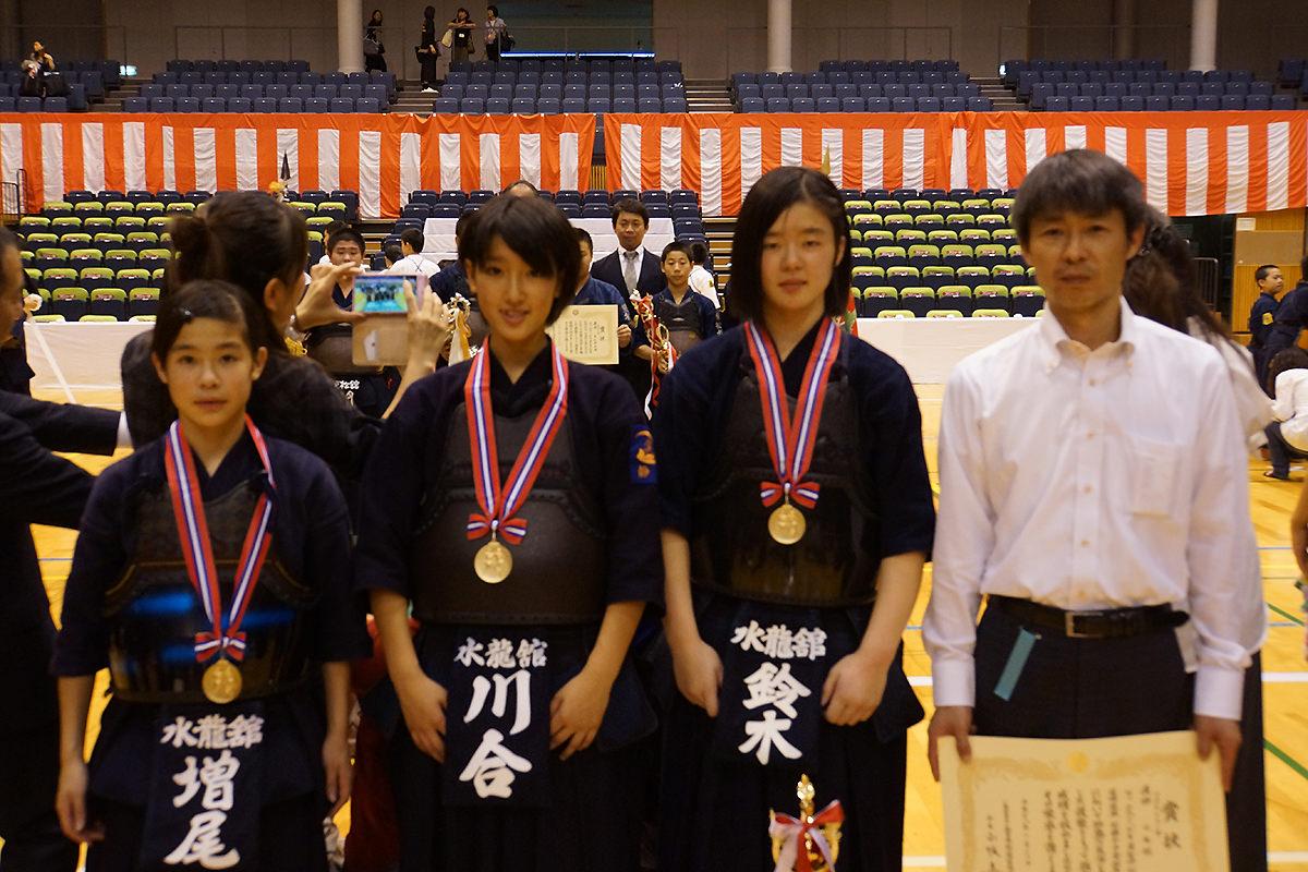 平成28年度「近藤杯」争奪剣道大会 中学年女子の部
