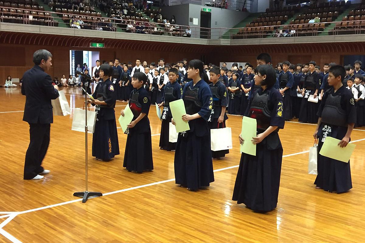 第35回愛知県小中学生女子剣道個人選手権大会