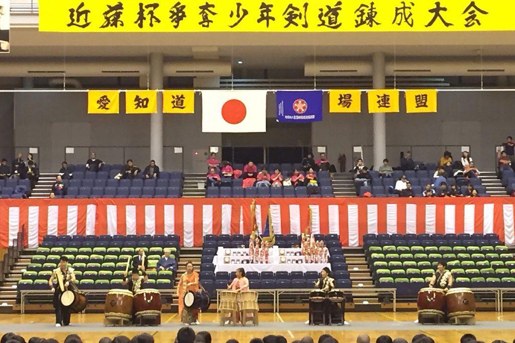 平成29年度愛知県剣道道場連盟「近藤杯」争奪少年剣道錬成大会・錬成会