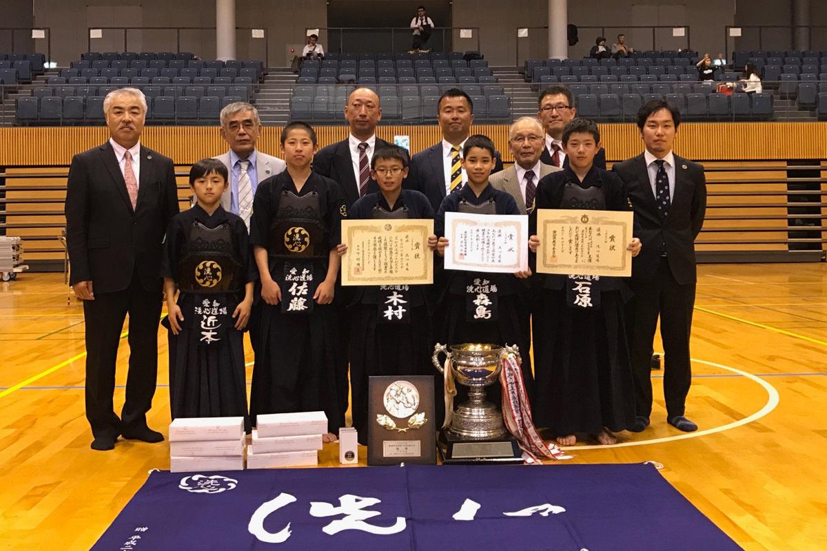 第47回愛知剣道場少年剣道大会 小学生の部 優勝 洗心道場