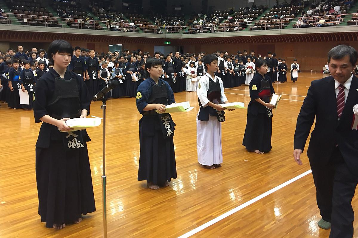 第36回愛知県小中学生女子剣道個人選手権大会