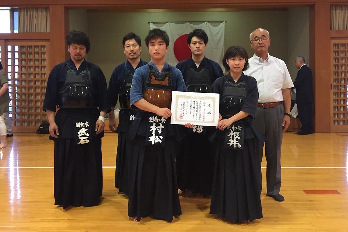 第36回全国道場対抗剣道大会・愛知県予選会 第三位 南区少年剣和会