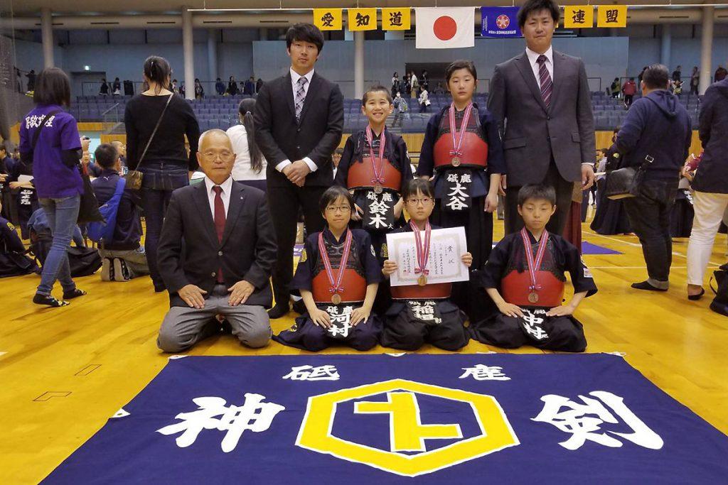 若鯱錬成会 小学生の部 第三位 砥鹿神社剣道教室