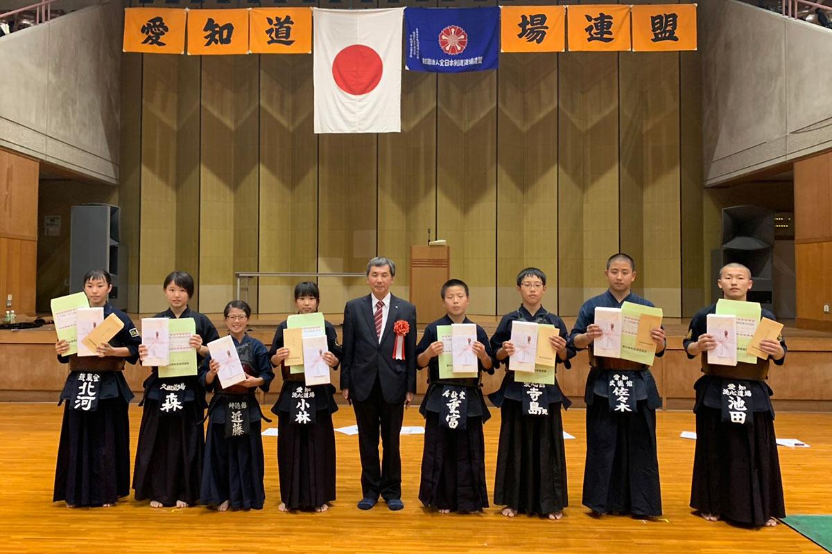 全国道場少年剣道選手権大会・愛知県代表選手