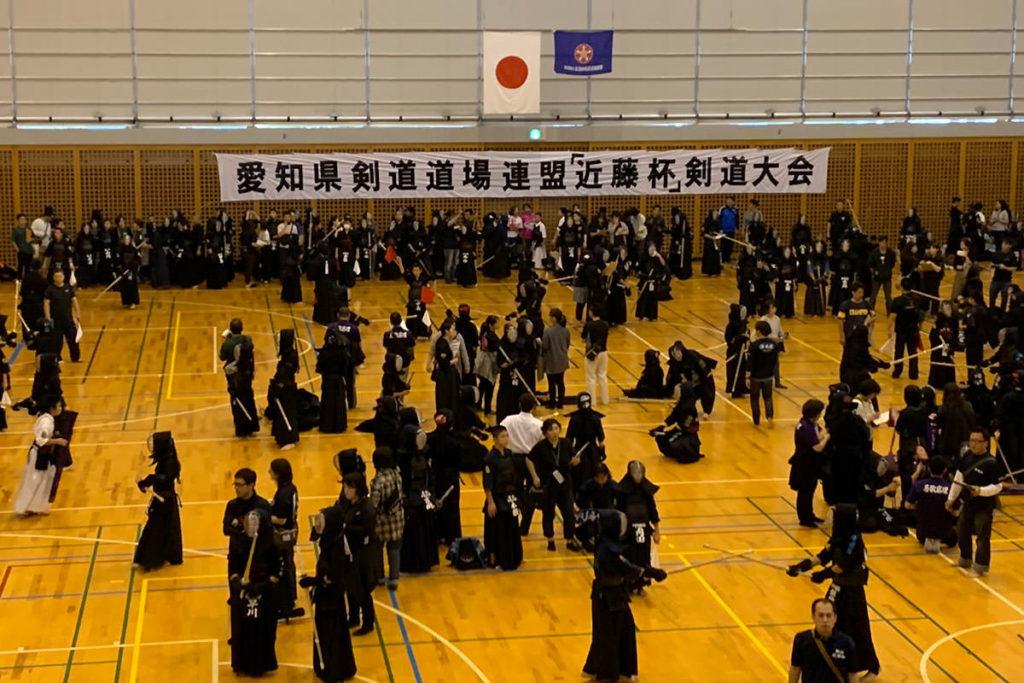 令和元年度愛知県剣道道場連盟「近藤杯」争奪少年剣道錬成大会交流試合