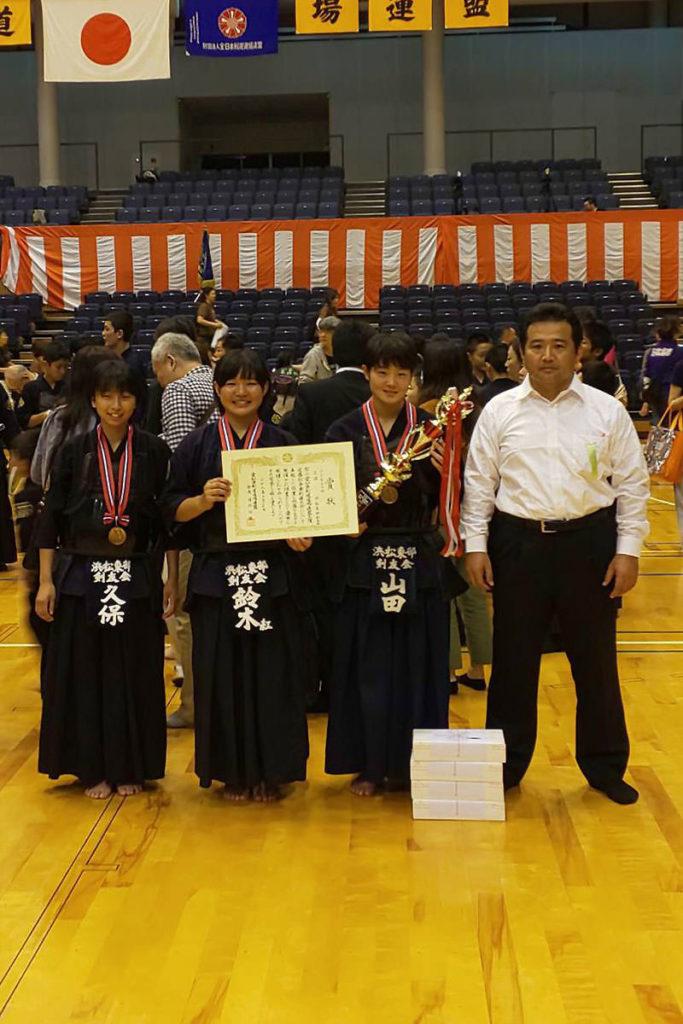 中学生女子の部 第三位 浜松東部剣友会
