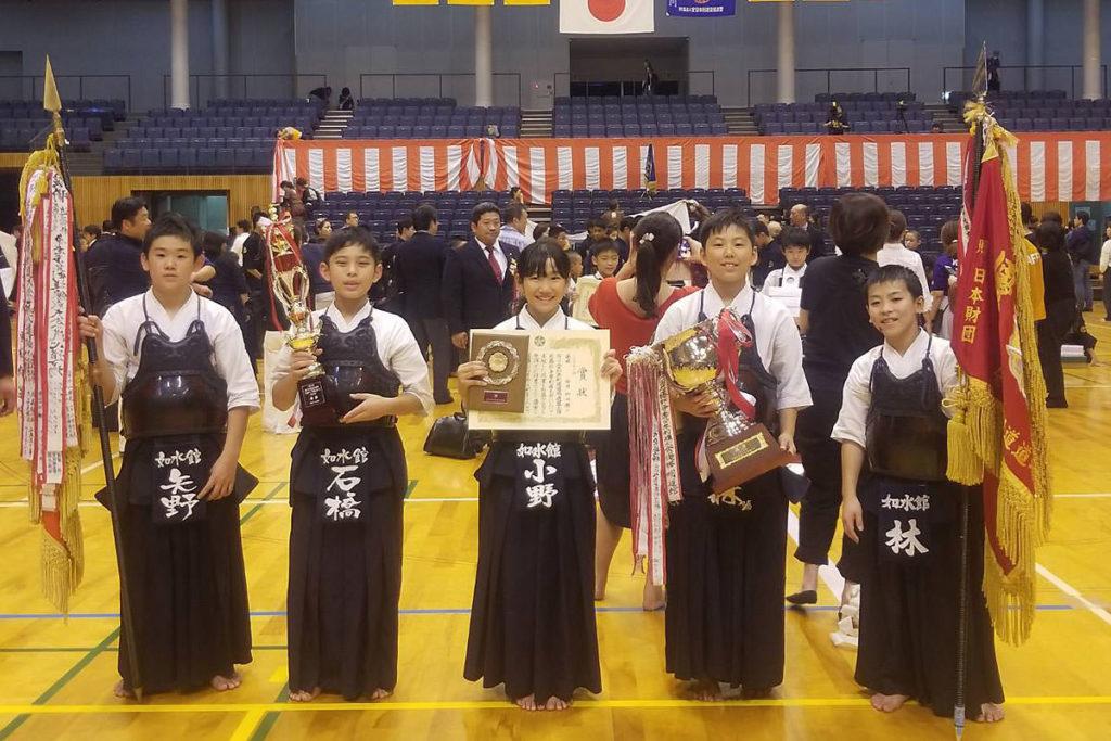 小学生の部 優勝 福岡如水館