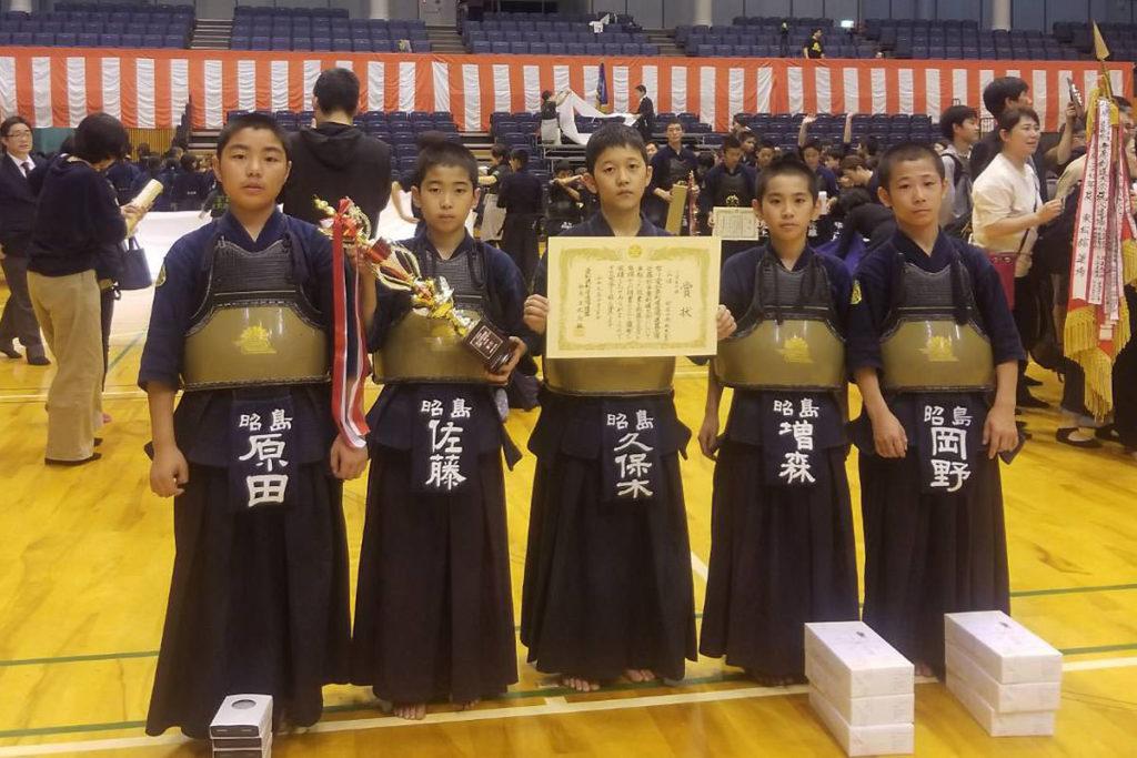 小学生の部 第三位 昭島中央剣友会