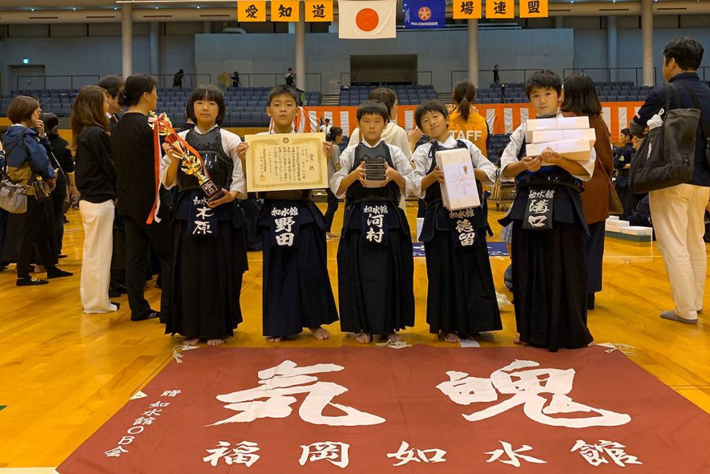 低学年の部 第三位 福岡如水館