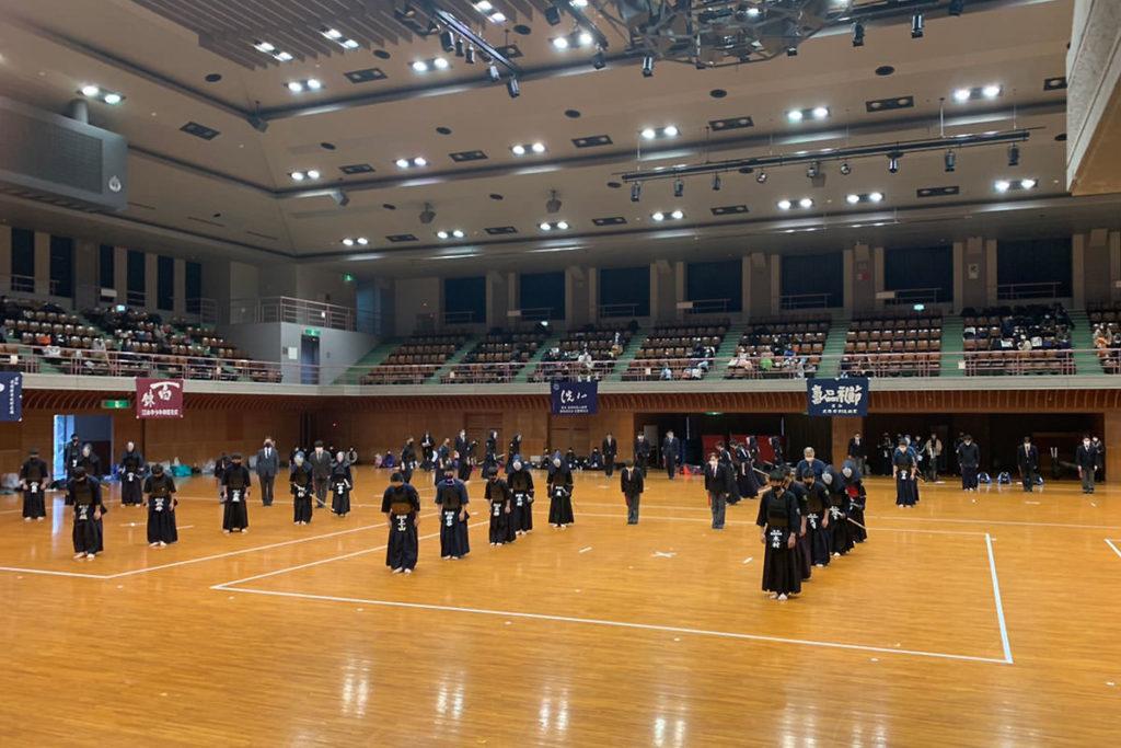 令和2年度愛知県剣道道場連盟研修会・中学生の部