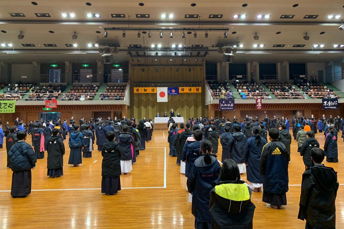 令和2年度最後の愛知県剣道道場連盟研修会・小学生の部