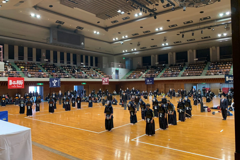 令和2年度愛知県剣道道場連盟研修会・小学生の部